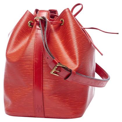 Louis Vuitton Petit Noé Red Epi