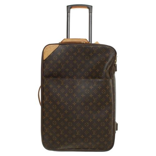 51604902460c Louis Vuitton valise à roulettes de toile Monogram - Acheter Louis ...
