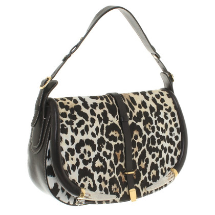 Roberto Cavalli Handbag with leopard pattern
