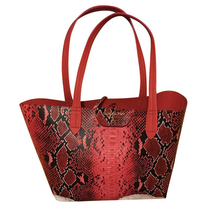 Patrizia Pepe Shopper Python leather