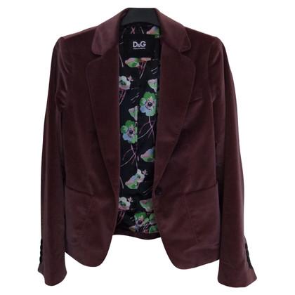 D&G Velvet jacket