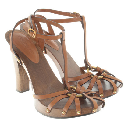 Dolce & Gabbana Sandals made of wood