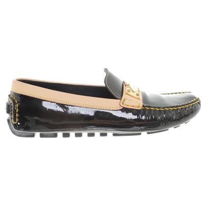 Louis Vuitton Mocassini in pelle verniciata