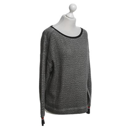 Marc Cain Sweatshirt in donkergrijs