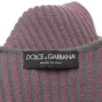 Dolce & Gabbana Strickoberteil mit Muster