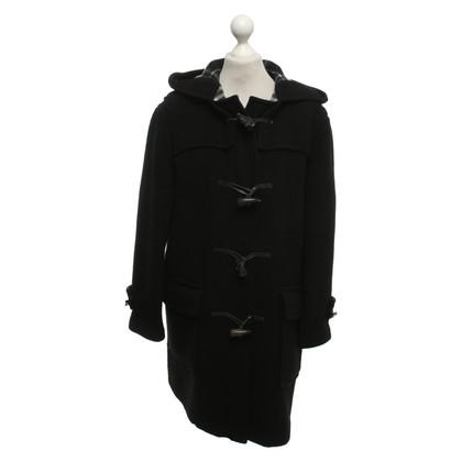 Burberry Cappotto di lana in nero