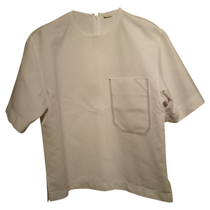 Céline blouse with short sleeves