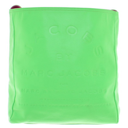 Marc by Marc Jacobs Wendetasche in groen / roze