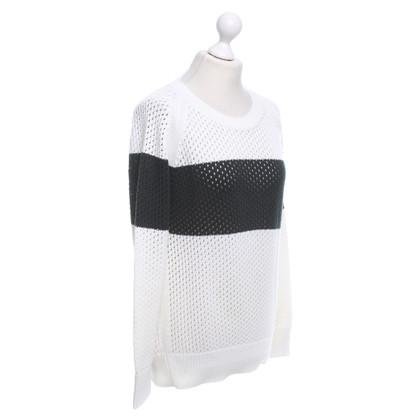 Closed Maglione in bianco / nero