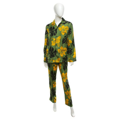 Prada Pajama with floral pattern