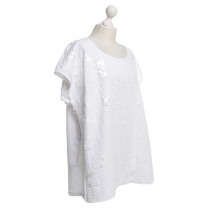 Marina Rinaldi T-Shirt mit Pailletten