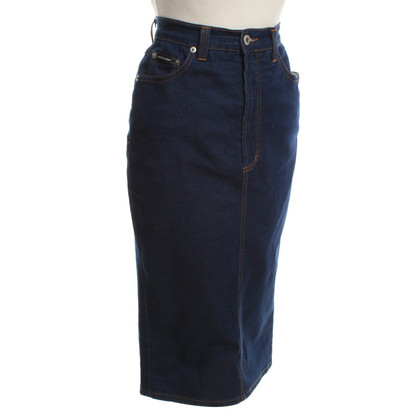Dolce & Gabbana Jeans skirt in blue
