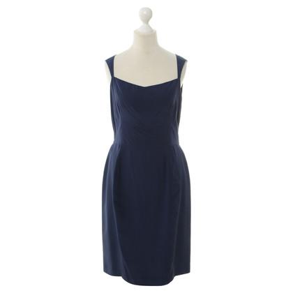 Yves Saint Laurent Silk dress in blue