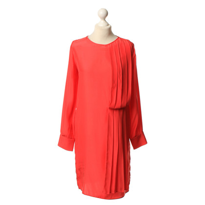 Holy Ghost Silk dress in red