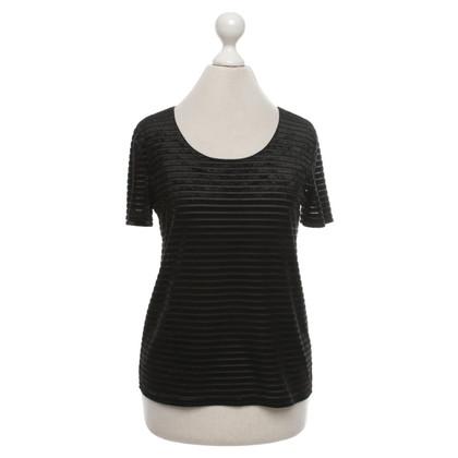 Armani Collezioni T-shirt in zwart
