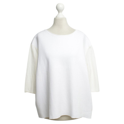 Schumacher Woll-Pullover in Weiß