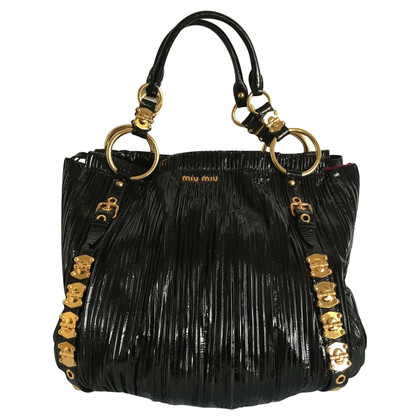 Miu Miu Patent leather handbag