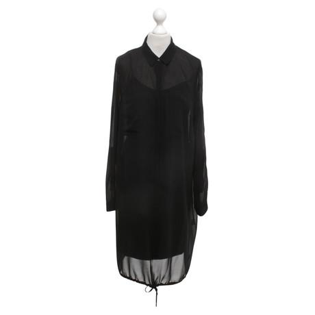 DKNY pure DKNY - Kleid in Schwarz Schwarz