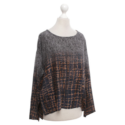 Max Mara top with pattern print