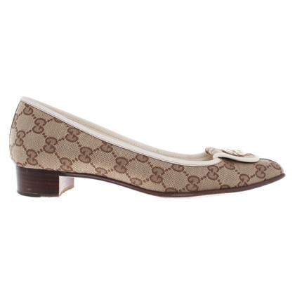 Gucci Ballerina's met Guccissima patroon