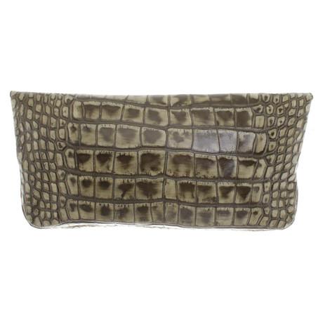 Givenchy Clutch in Grün Grün Günstig Kaufen Auslassstellen Freies Verschiffen Footlocker VapMXQ9eYE