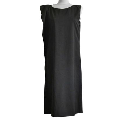 Jil Sander Zwarte jurk met ruches