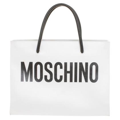 Moschino Borsa in Nero / Bianco
