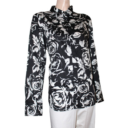 Ralph Lauren Blouse in black / white
