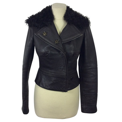 Alessandro Dell'Acqua Leather jacket