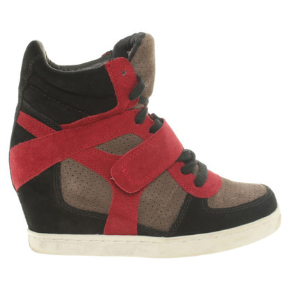 Andere Marke Sneaker-Wedges in Tricolor