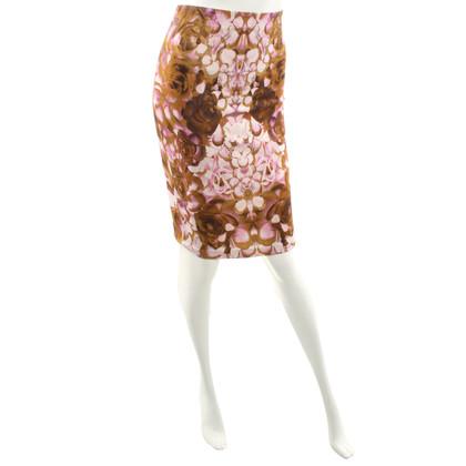 Alexander McQueen Jupe avec imprimé floral