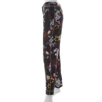 Erdem trousers with a floral pattern