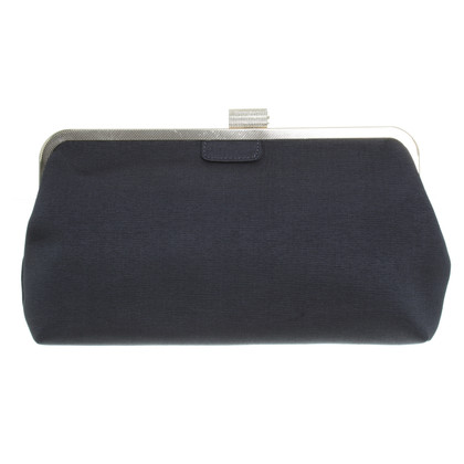 BCBG Max Azria clutch in donker taupe