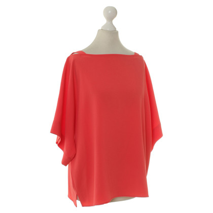 Laurèl top in coral red