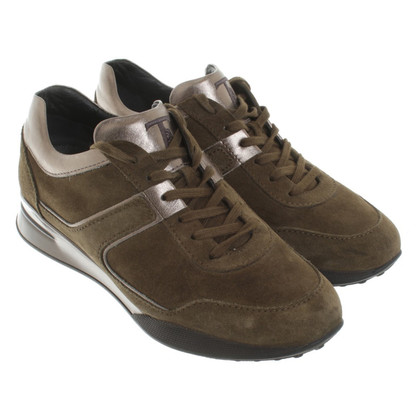 Tod's Sneaker in Olive