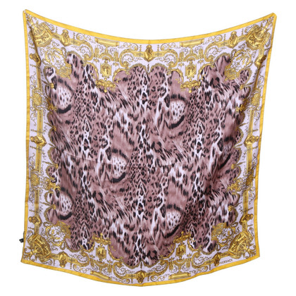 Versace Silk scarf in animal print