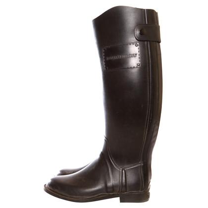 Burberry Stivali da pioggia neri