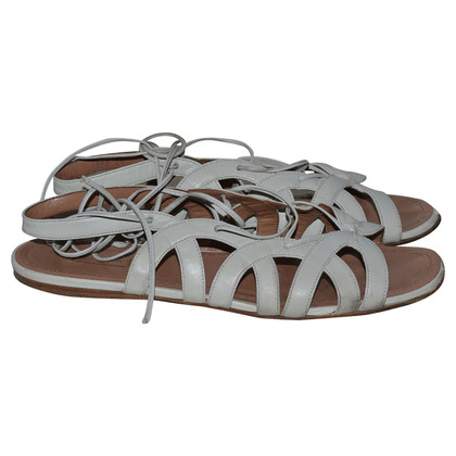 Alaïa leather sandals