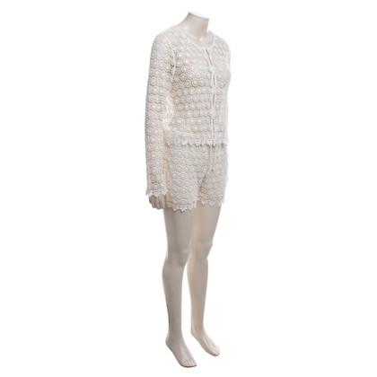 Twin-Set Simona Barbieri Suit in crèmewit