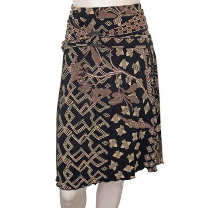 Max Mara Brown Belted Skirt