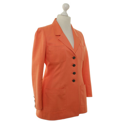 Chanel Blazer in arancione