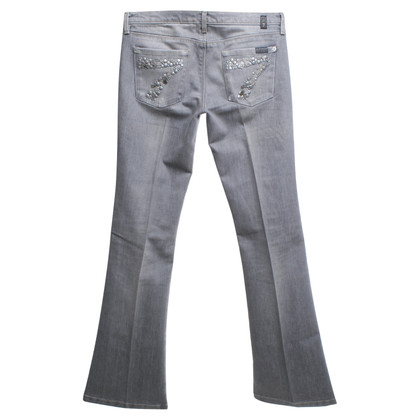 7 For All Mankind Flares in grey