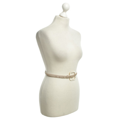 Dorothee Schumacher Suede belt in beige