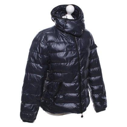 Moncler Quilted jacket in dark blue