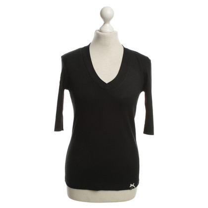 Marc Cain T-Shirt in Black