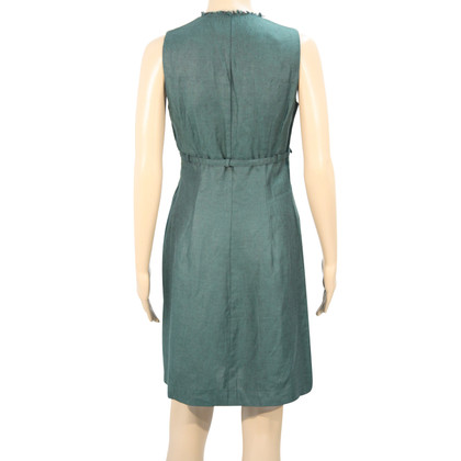 Calvin Klein Linen dress in green