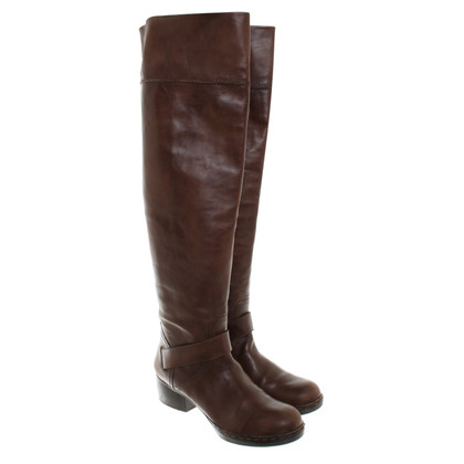 Costume National bottes au genou Brown