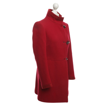 Fay Red Cordmantel Wool
