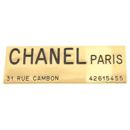 Chanel Rectangular brooch