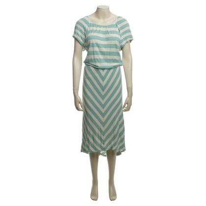 Ella Moss Kleid mit Streifen